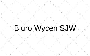 Biuro wycen SJW